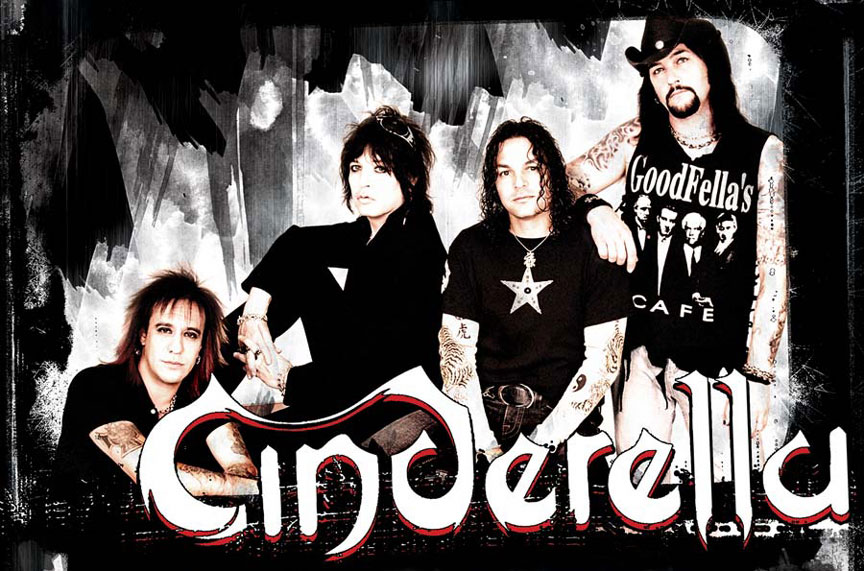 cinderella official band site