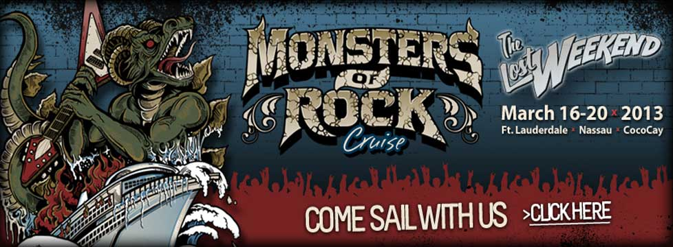 Monsters of Rock Cruise 2012 - Cinderella.net